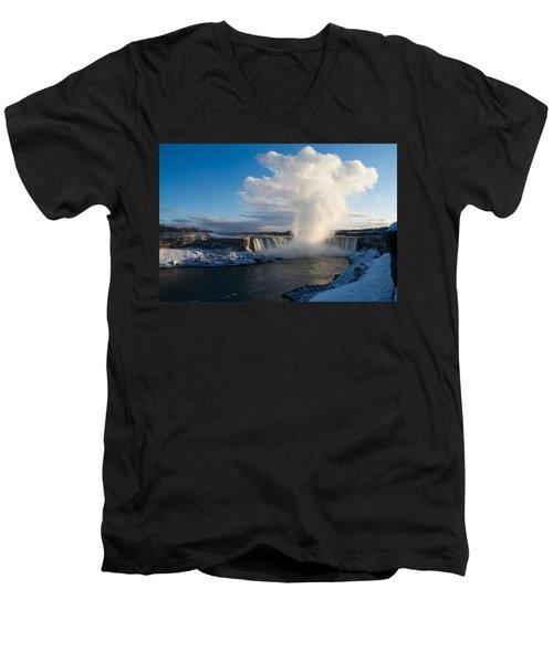 Niagara Falls Makes Its Own Weather Men's V-Neck T-Shirt