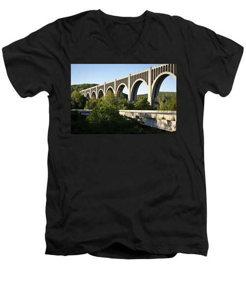 Nicholson Bridge Men's V-Neck T-Shirt