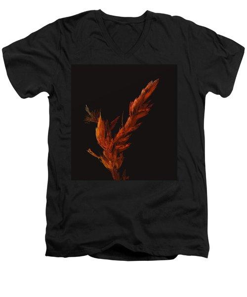 Night Bloom Men's V-Neck T-Shirt