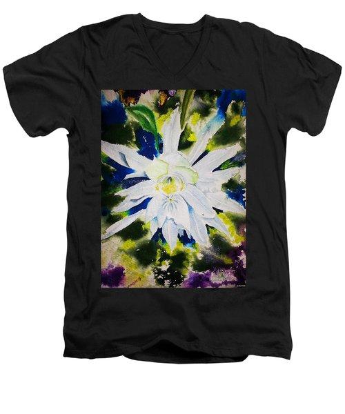 Night Bloomer Men's V-Neck T-Shirt