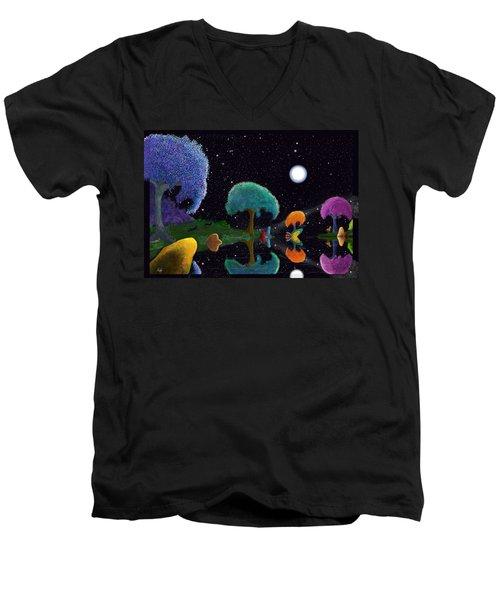 Night Games Men's V-Neck T-Shirt