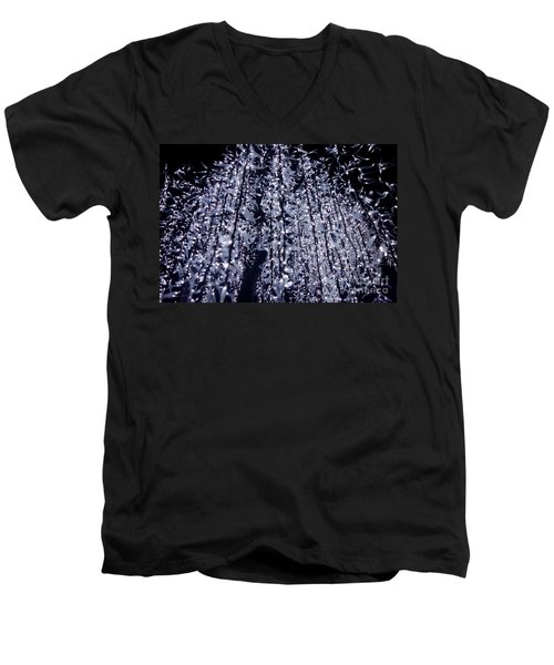 Night Lights Men's V-Neck T-Shirt