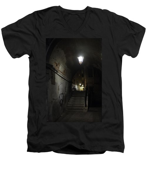 Night Passage Men's V-Neck T-Shirt