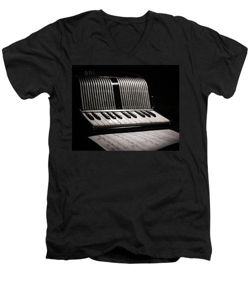Night Song Men's V-Neck T-Shirt