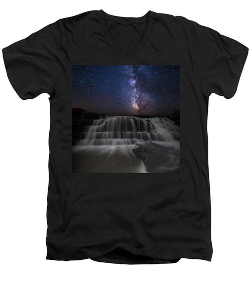 Nightfall Men's V-Neck T-Shirt