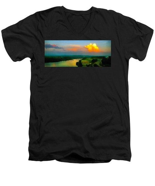 Nightfall Men's V-Neck T-Shirt