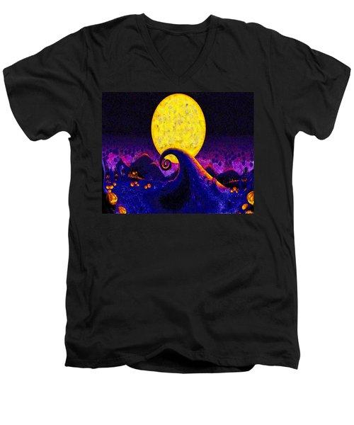 Nightmare Before Christmas Men's V-Neck T-Shirt