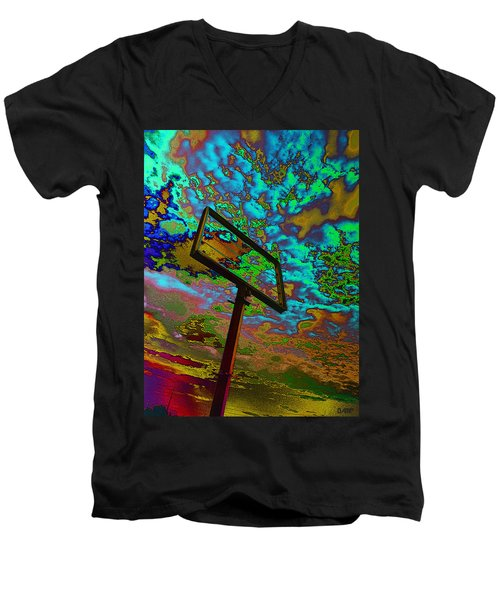 Nikki's Cloud Catcher Men's V-Neck T-Shirt