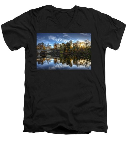 Niles Reflections Men's V-Neck T-Shirt