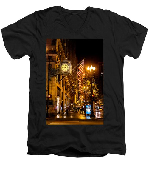 Nine Twenty Two In Chicago And All Is Well Men's V-Neck T-Shirt