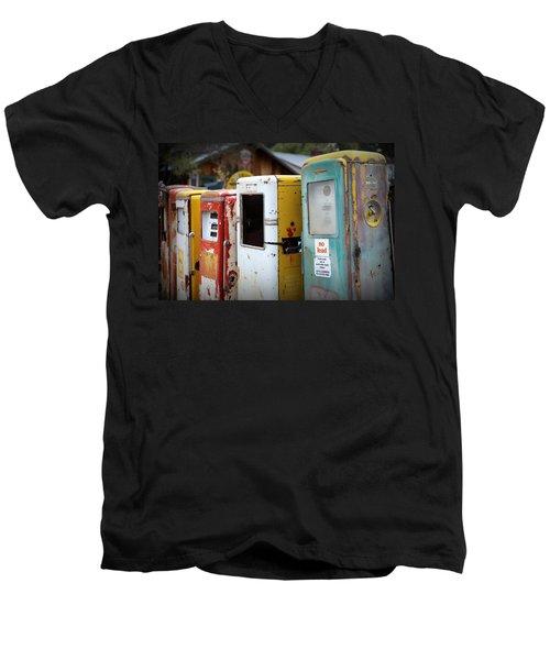 No Lead Men's V-Neck T-Shirt