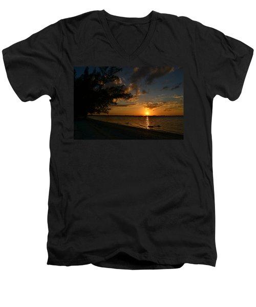 No Words Men's V-Neck T-Shirt