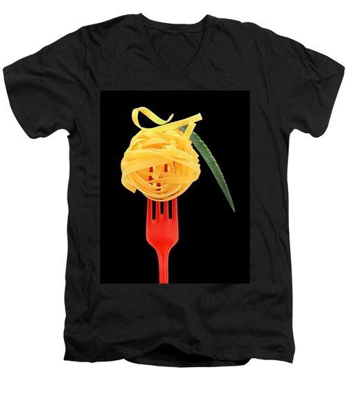 Noodles Men's V-Neck T-Shirt