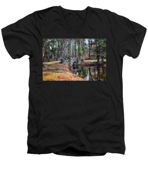November Reflections Men's V-Neck T-Shirt