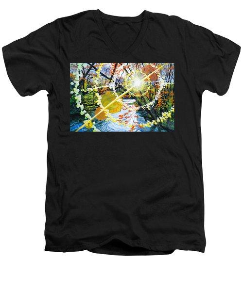 The Glorious River Men's V-Neck T-Shirt
