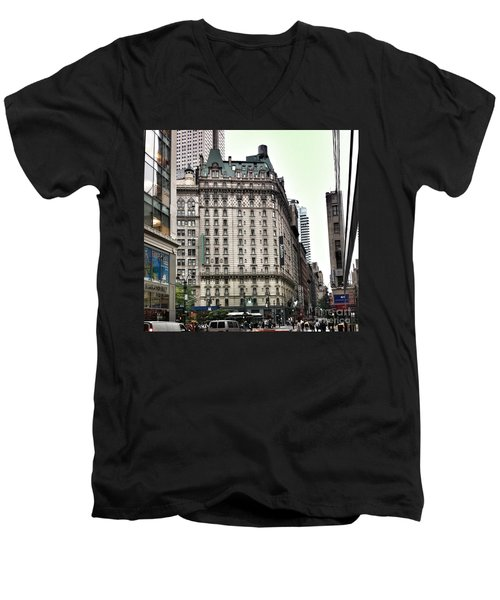 Nyc Radisson Hotel Men's V-Neck T-Shirt