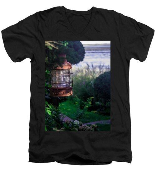 Oceanside Lantern Men's V-Neck T-Shirt