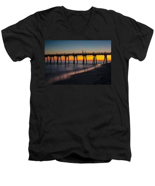 October Sunset Men's V-Neck T-Shirt