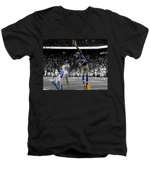Odell Beckham Greatest Catch Ever Men's V-Neck T-Shirt