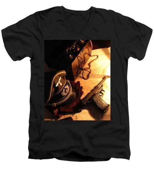Officer's Option   Men's V-Neck T-Shirt