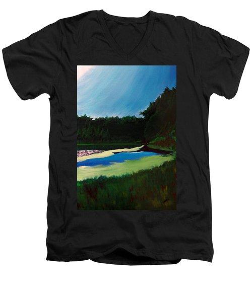 Oglebay Park - Palmer Course Men's V-Neck T-Shirt