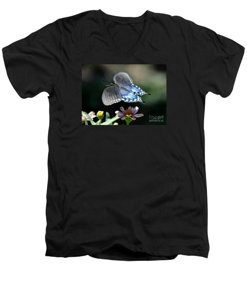 Oh Heavenly Garden Men's V-Neck T-Shirt by Nava Thompson