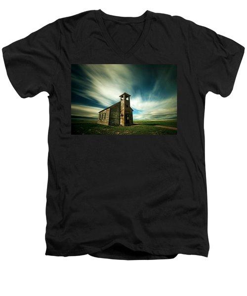 Old Cottonwood Church Men's V-Neck T-Shirt