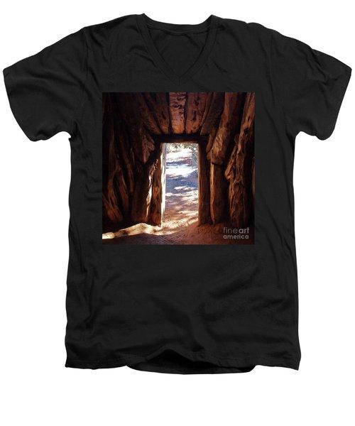 Old Hogan Men's V-Neck T-Shirt