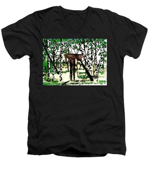 Old Obstacles Men's V-Neck T-Shirt
