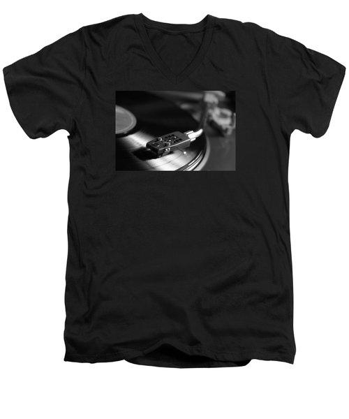 Old Songs Of Memory Men's V-Neck T-Shirt