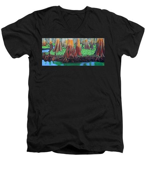 Old Swampy Men's V-Neck T-Shirt
