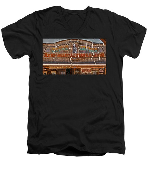 Old Town Saloon Men's V-Neck T-Shirt