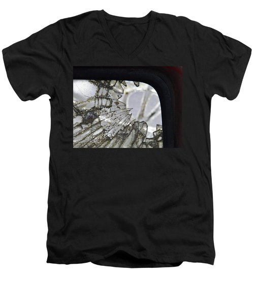 Old Wound Men's V-Neck T-Shirt by Nick Kirby