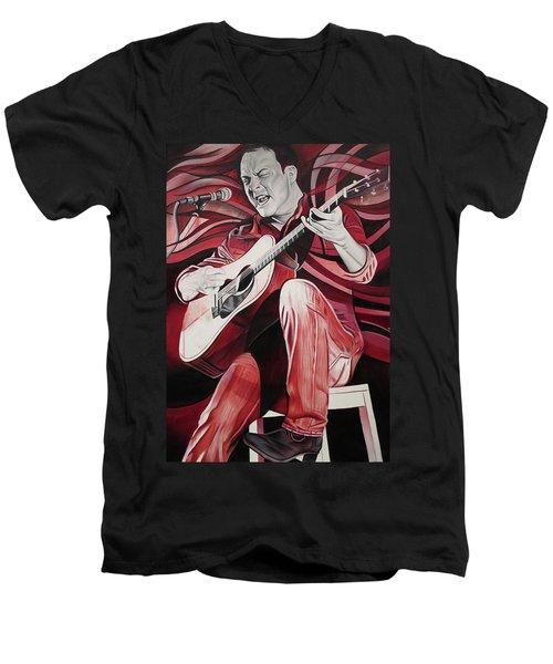 Dave Matthews-on Bended Knees Men's V-Neck T-Shirt