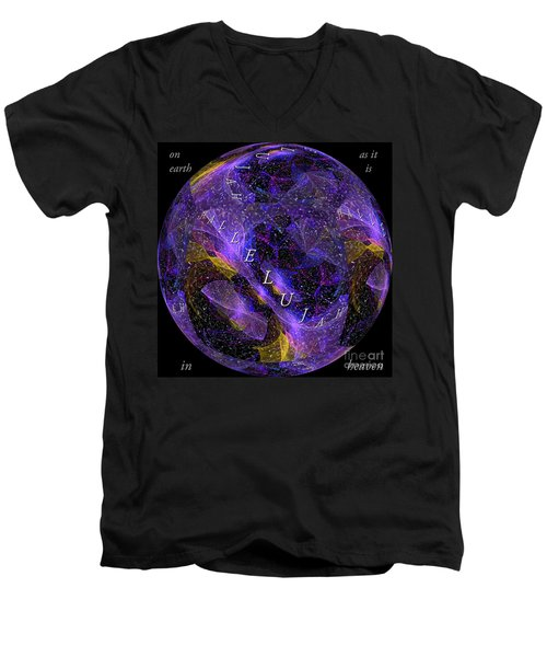 On Earth As It Is In Heaven Men's V-Neck T-Shirt