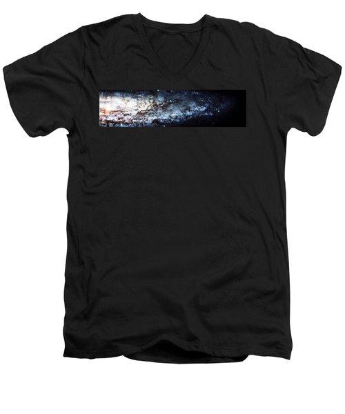 On The Galaxy Edge Men's V-Neck T-Shirt