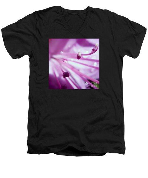 On The Inside Men's V-Neck T-Shirt by Kerri Farley