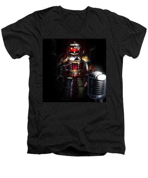 One Man Band Men's V-Neck T-Shirt