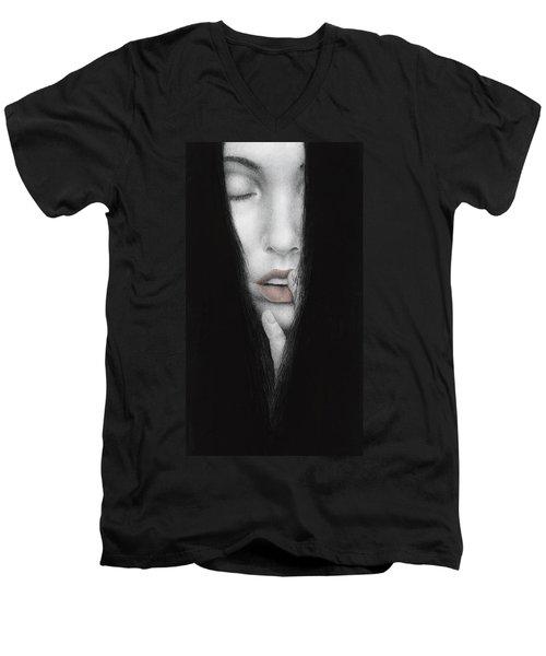 Onus Memoriae Men's V-Neck T-Shirt by Pat Erickson