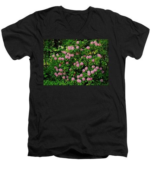 Oregon Azaleas Men's V-Neck T-Shirt
