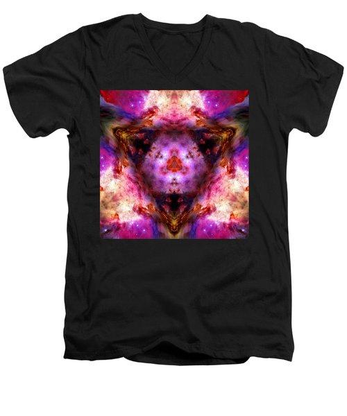 Orion Nebula Vi Men's V-Neck T-Shirt