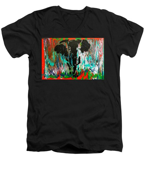 Out Of Africa Men's V-Neck T-Shirt