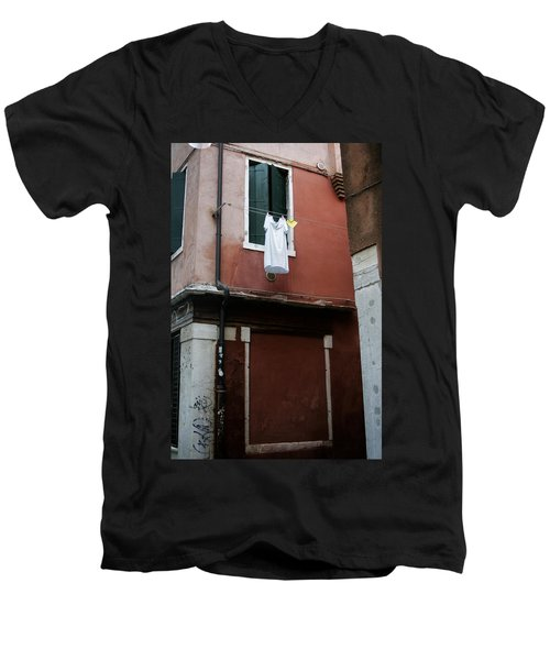 Out To Dry Men's V-Neck T-Shirt