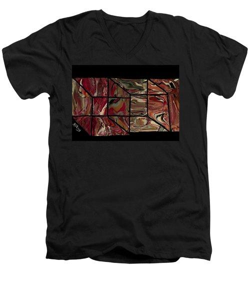 Outside The Box I Men's V-Neck T-Shirt