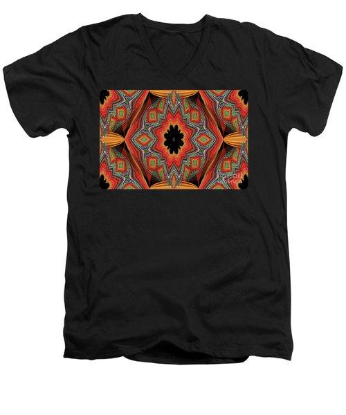 Ovs 16 Men's V-Neck T-Shirt by Oksana Semenchenko