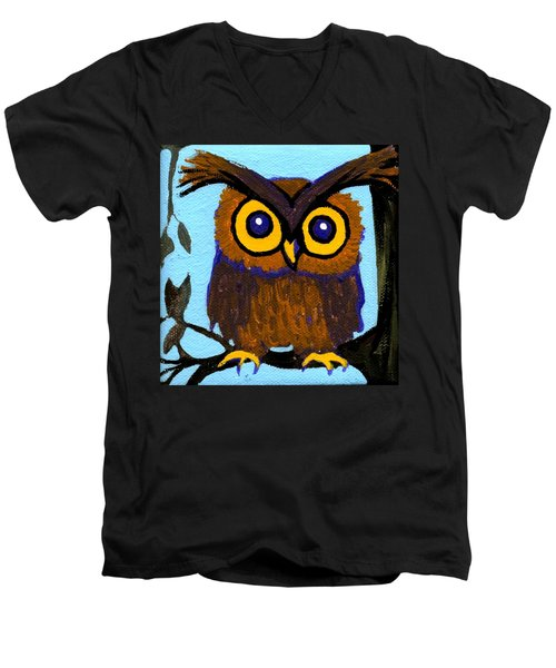 Owlette Men's V-Neck T-Shirt