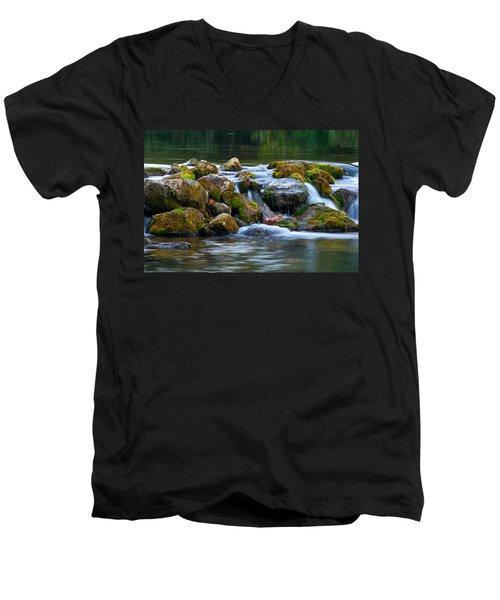 Ozark Waterfall Men's V-Neck T-Shirt