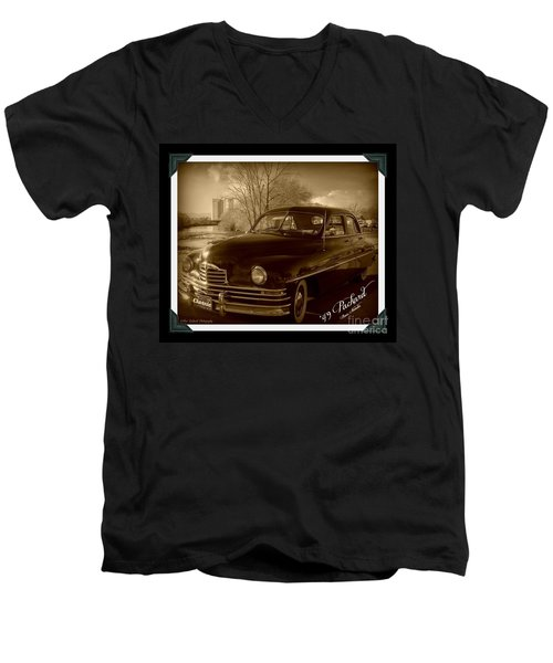 Packard Classic At Truckee River Men's V-Neck T-Shirt