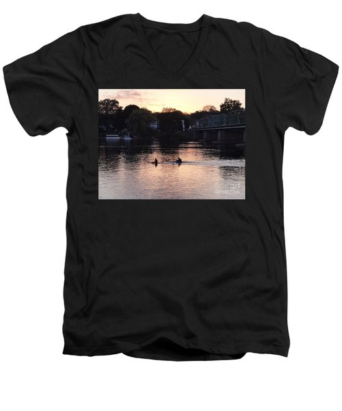 Paddling For Home Men's V-Neck T-Shirt