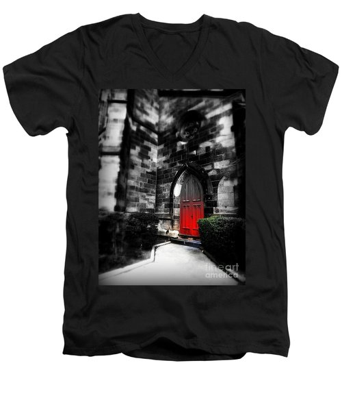Paint It Black Men's V-Neck T-Shirt